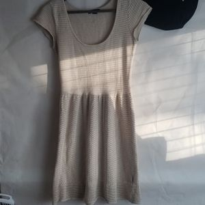 American Eagle Holiday Sweater Dress Shimmer XS